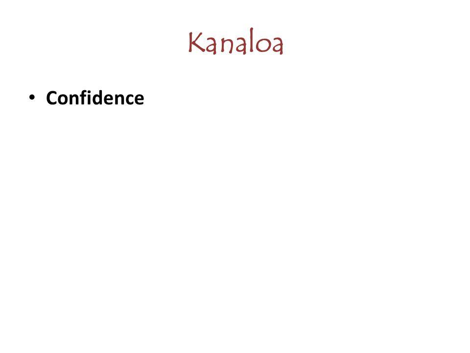 Kanaloa Confidence
