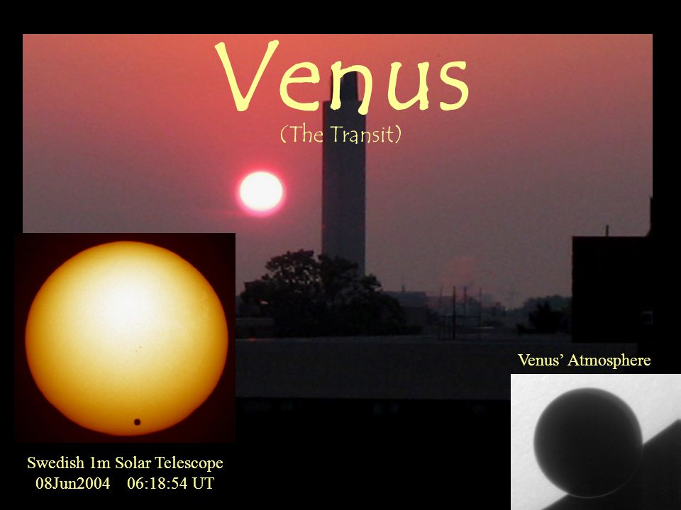 Swedish 1m Solar Telescope 08Jun2004 06:18:54 UT Venus' Atmosphere Venus (The Transit)