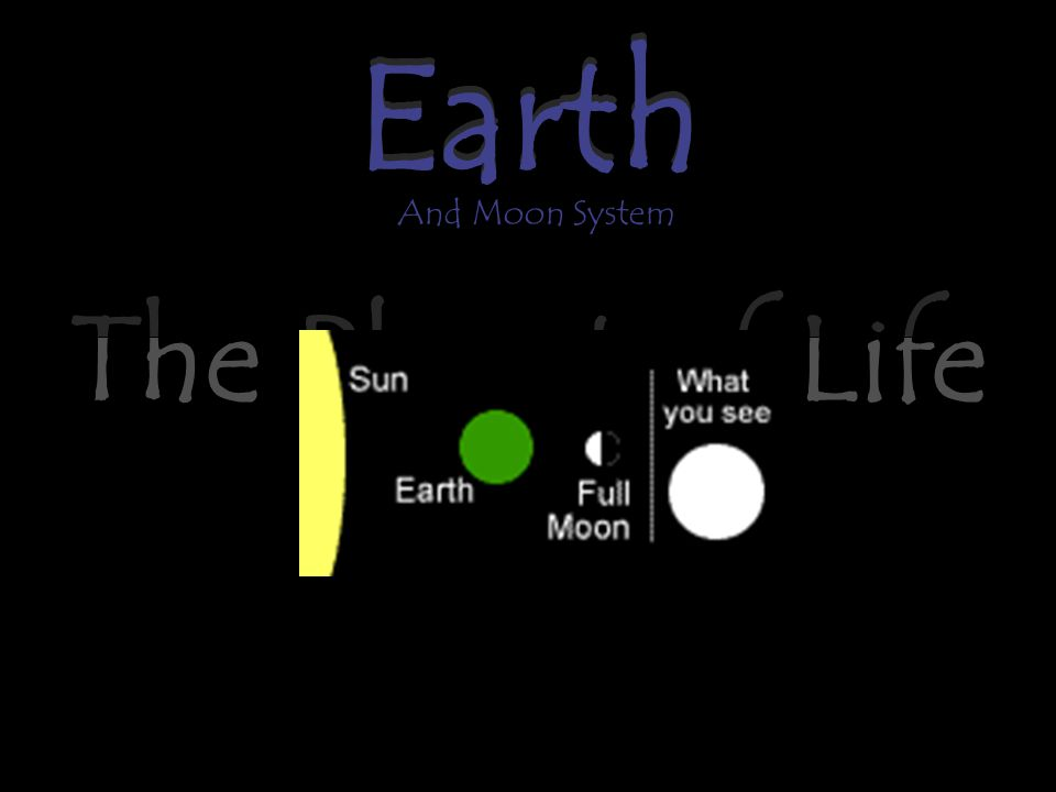 Earth The Planet of Life Earth And Moon System