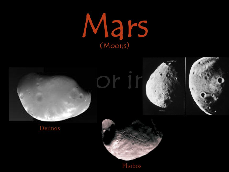 Mars Warrior in Red Mars (Moons) Deimos Phobos