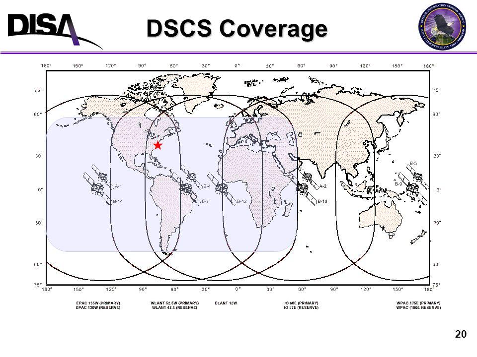 20 DSCS Coverage