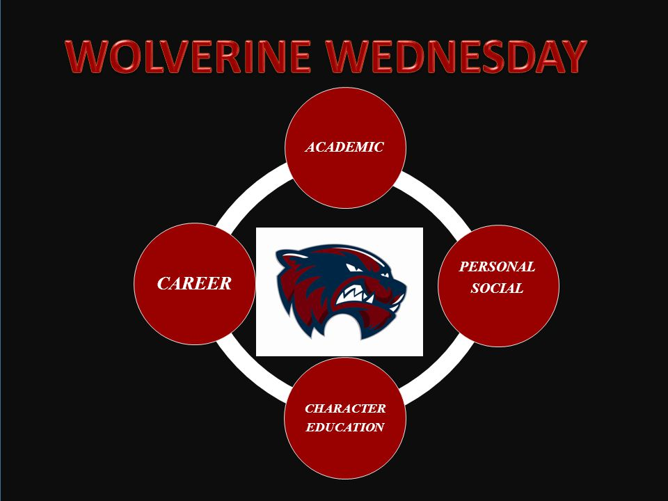 WOLVERINE WEDNESDAY Woodstock High School has had a TAA program for several years that met 6-7 times each year.