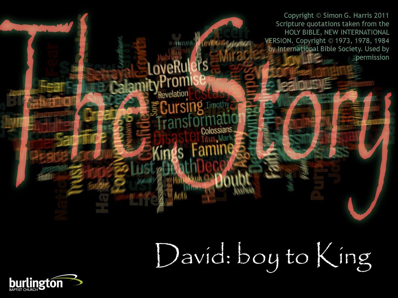 David: boy to King Copyright © Simon G.