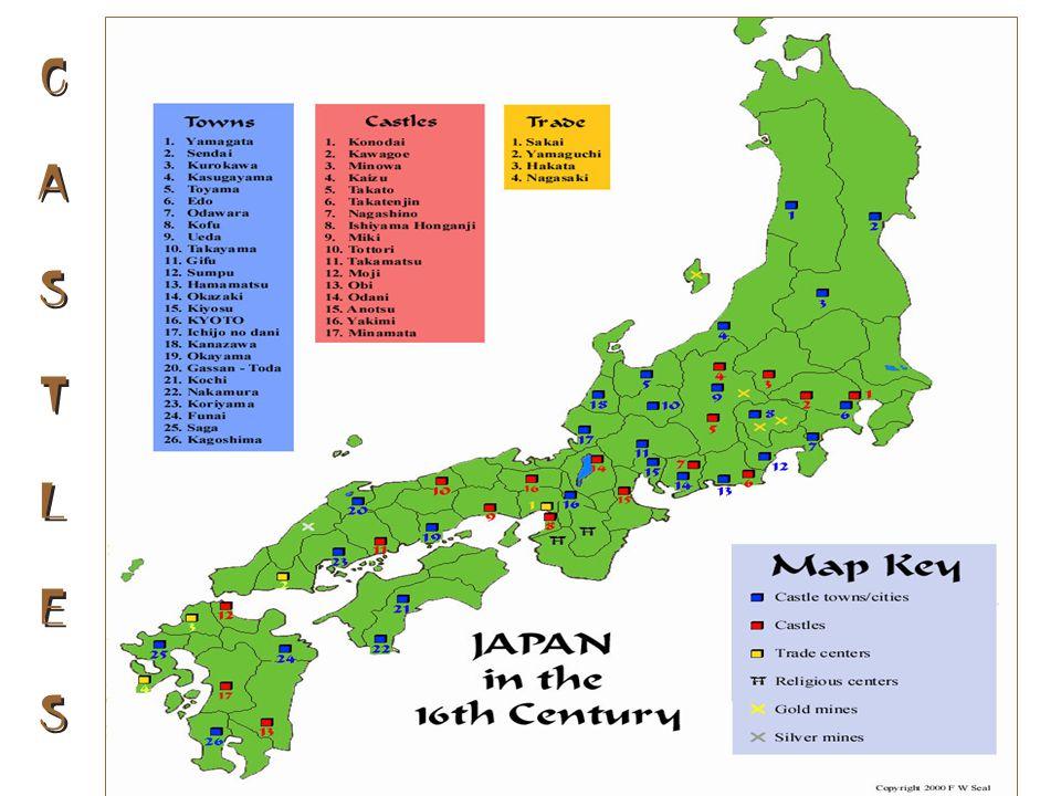 C. JAPANESE CASTLES