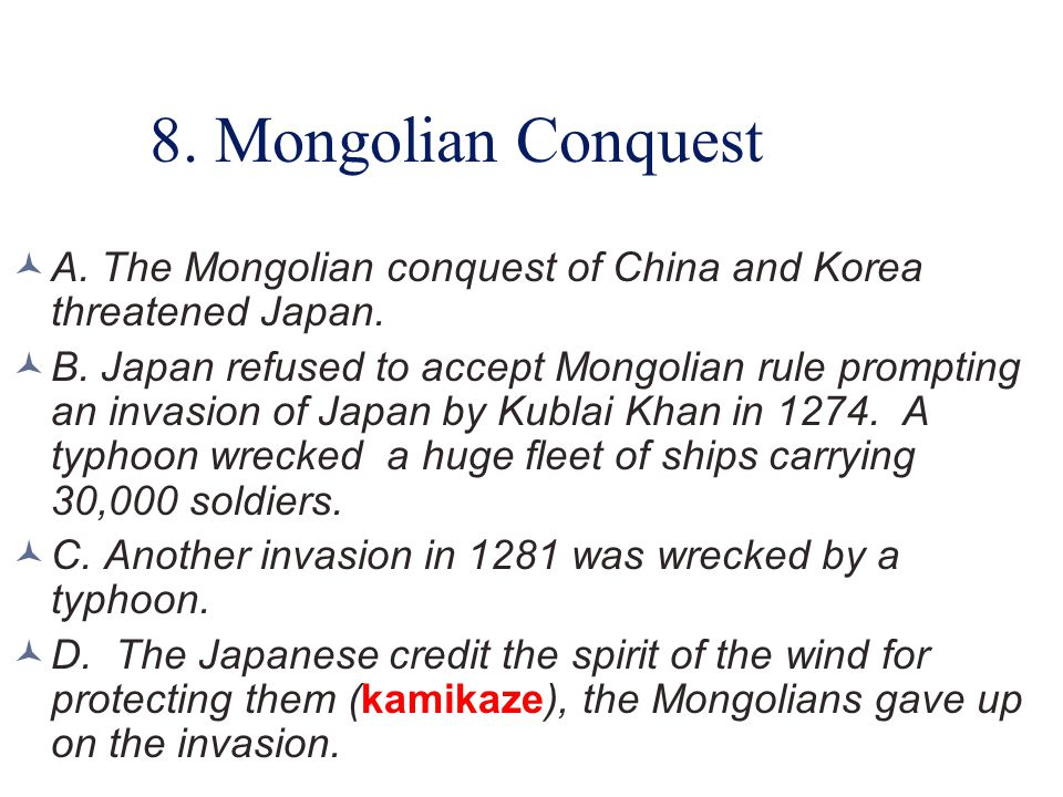 D. BASIC JAPANESE HISTORY