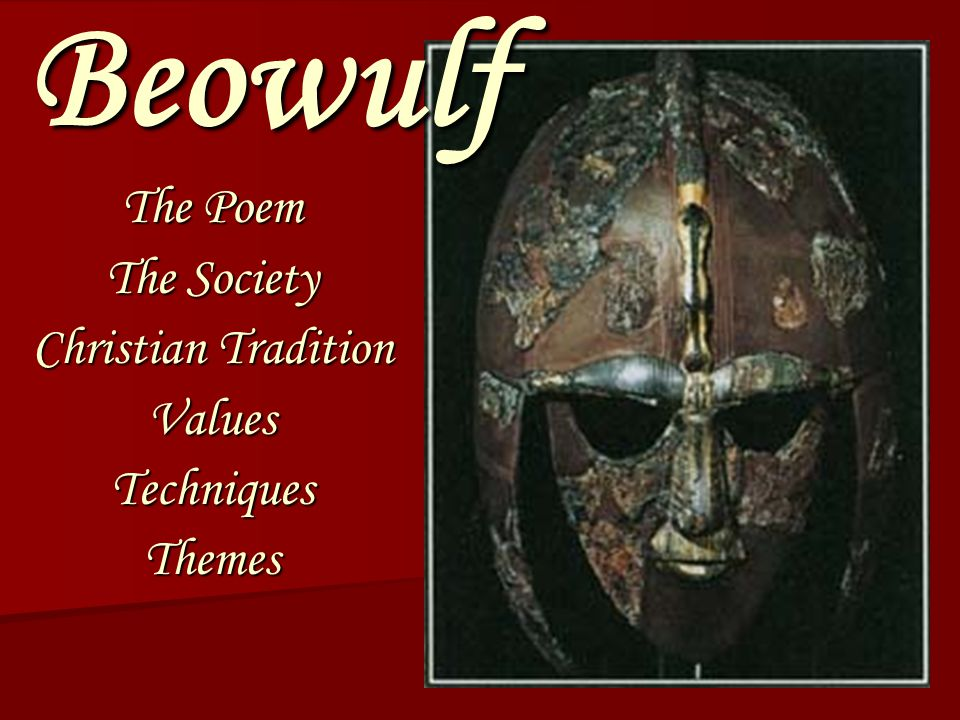 an analysis of aspects of christianity in beowulf
