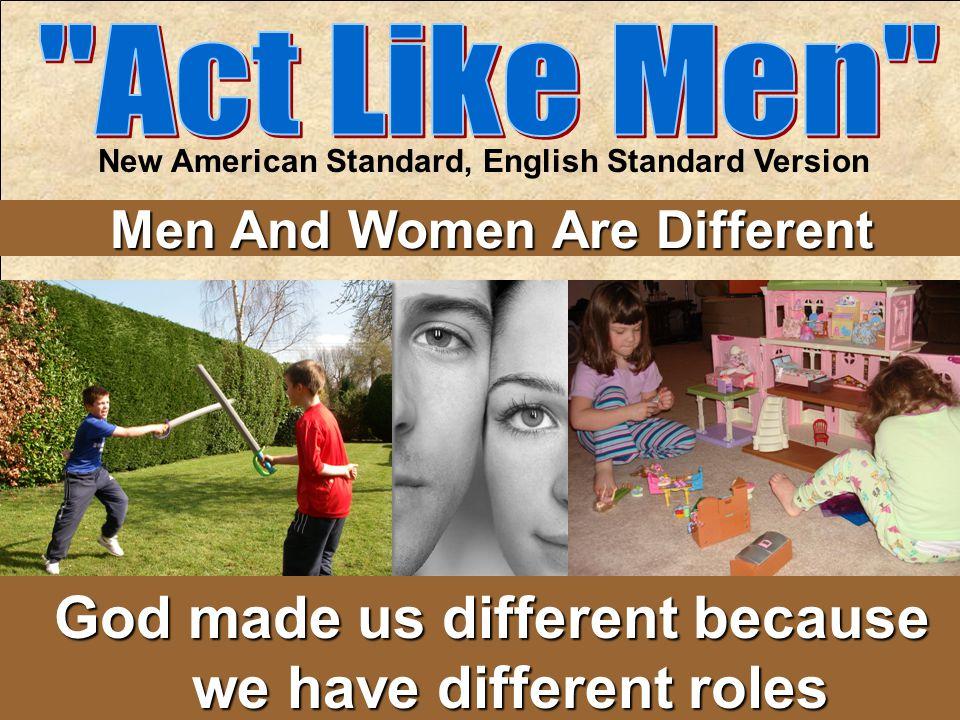 New American Standard, English Standard Version
