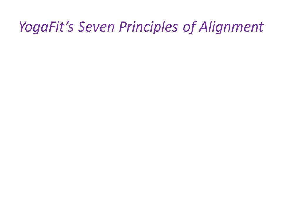 YogaFit's Seven Principles of Alignment