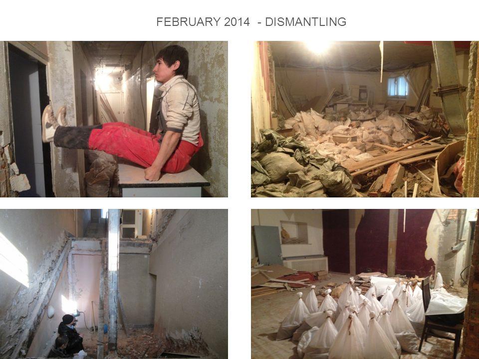 FEBRUARY 2014 - DISMANTLING