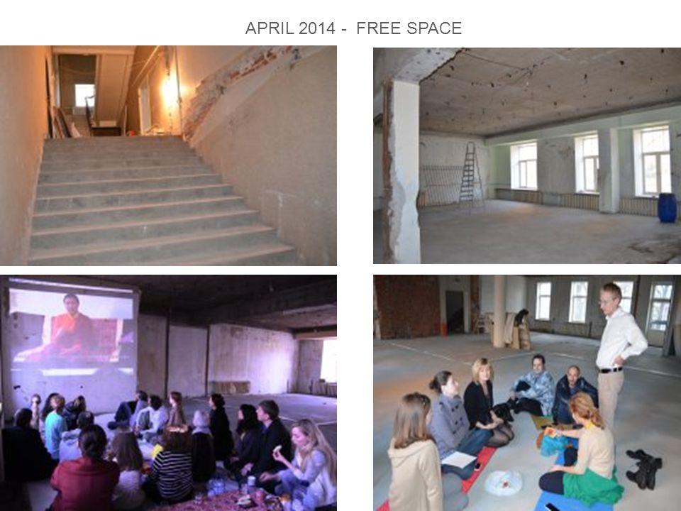 APRIL 2014 - FREE SPACE