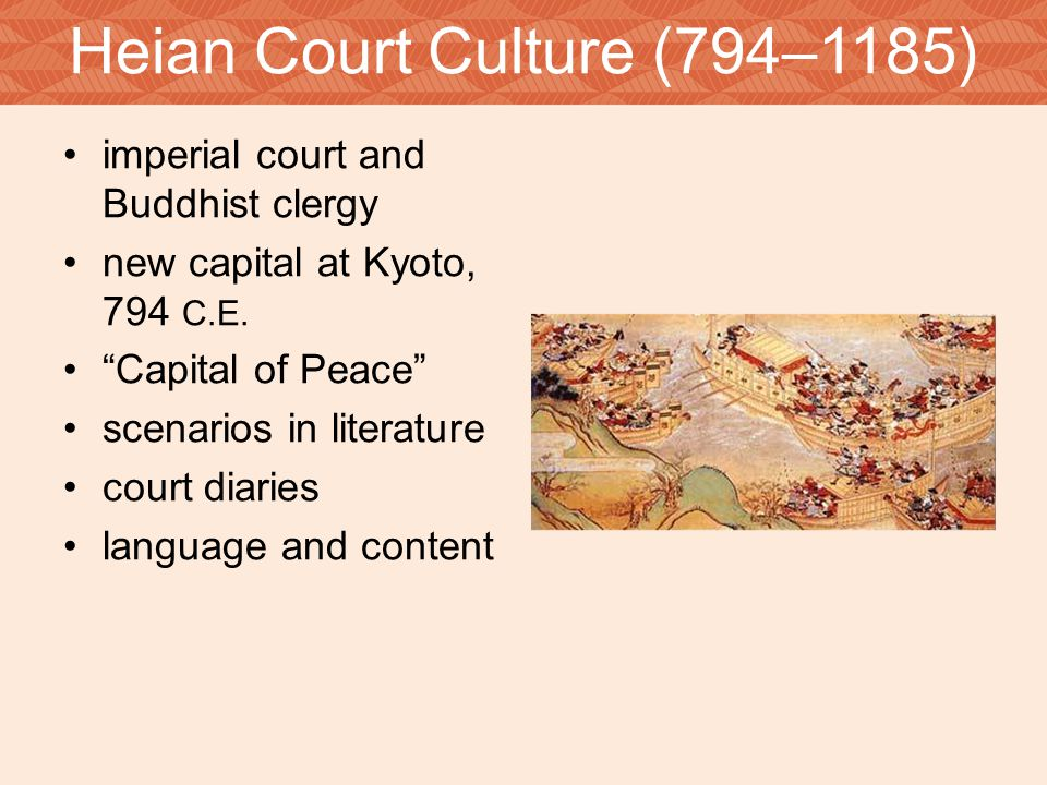 Aristocratic Women highly educated segregation from men/ gender assymetry Heian imperial court life