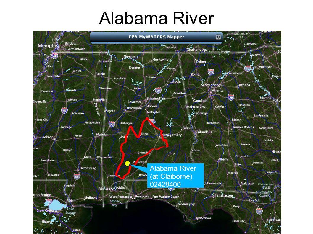 Alabama River (at Claiborne) 02428400