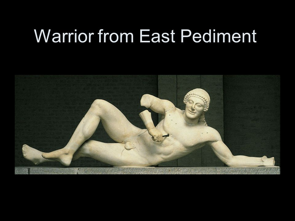 Warrior from East Pediment