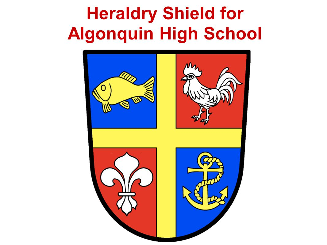 Heraldry Shield for Algonquin High School