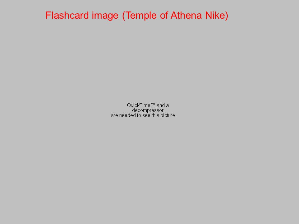 Flashcard image (Temple of Athena Nike)