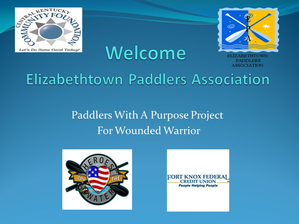Paddlers With A Purpose Project For Wounded Warrior