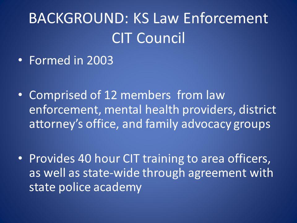 KS Law Enforcement CIT Council