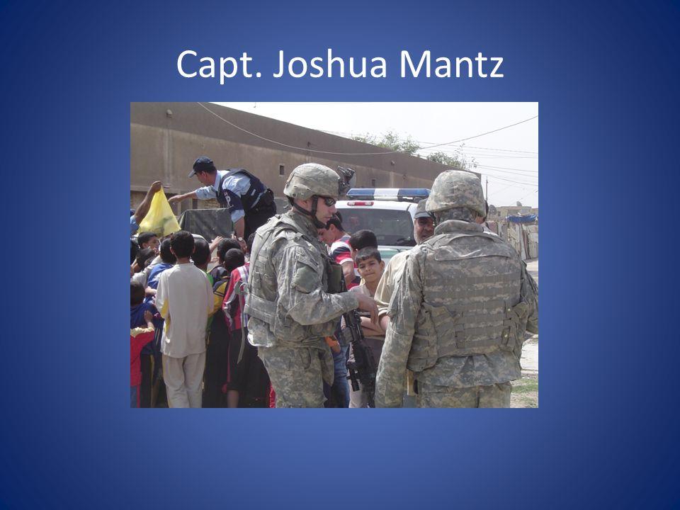 Capt. Joshua Mantz