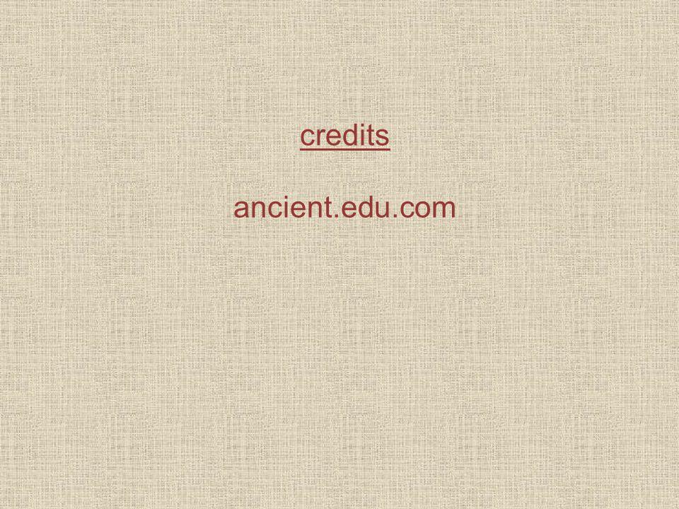 credits ancient.edu.com