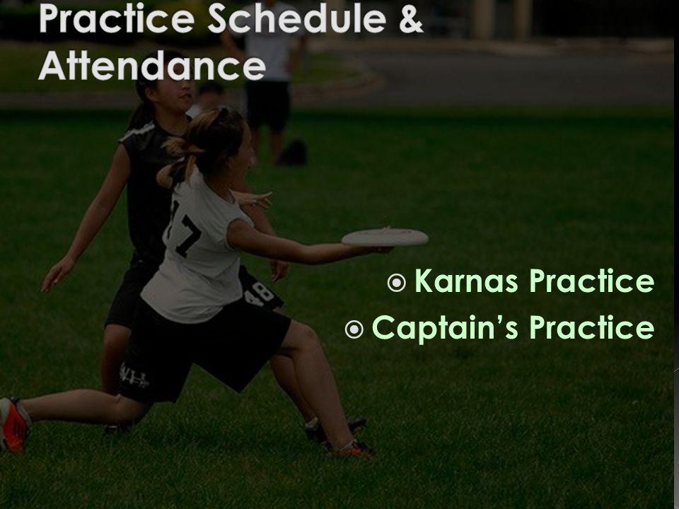  Karnas Practice  Captain's Practice