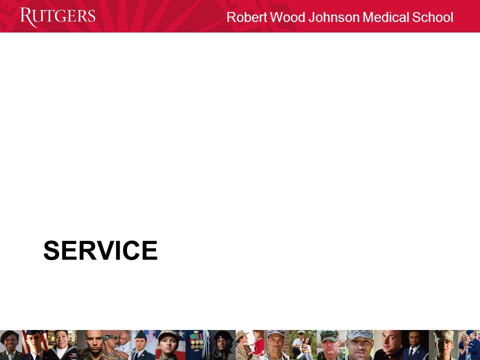 Robert Wood Johnson Medical School SERVICE