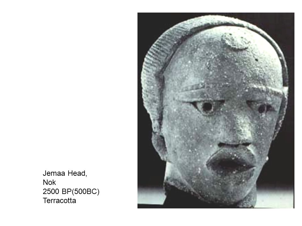 Seated figure, Djenne, Mali Terracotta, h.44.3cm