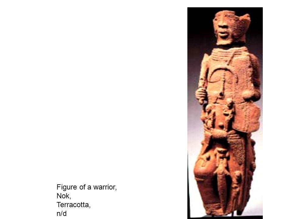 Archer figure, Djenne, Mali Terracotta, h.61 cm (24 3/8 in.)