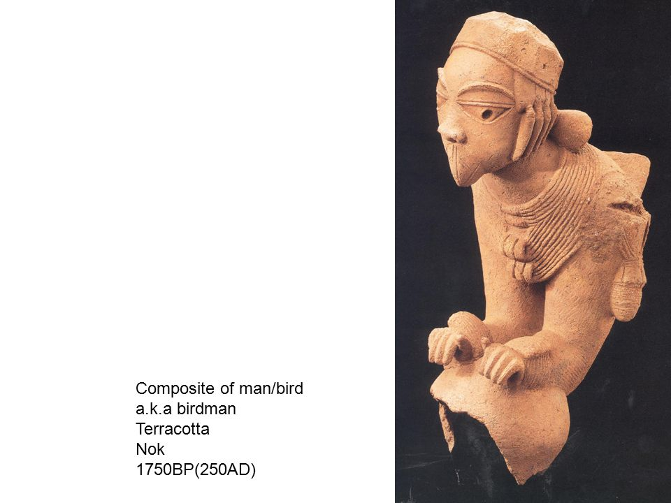 Male figure, Djenne, Mali Iron, bronze h. 49.5 cm