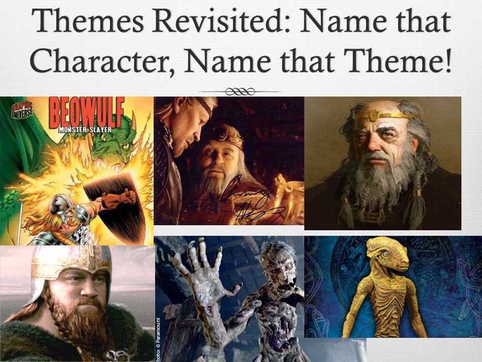 Themes Revisited: Name that Character, Name that Theme!