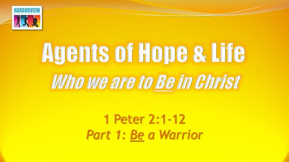 1 Peter 2:1-12 Part 1: Be a Warrior