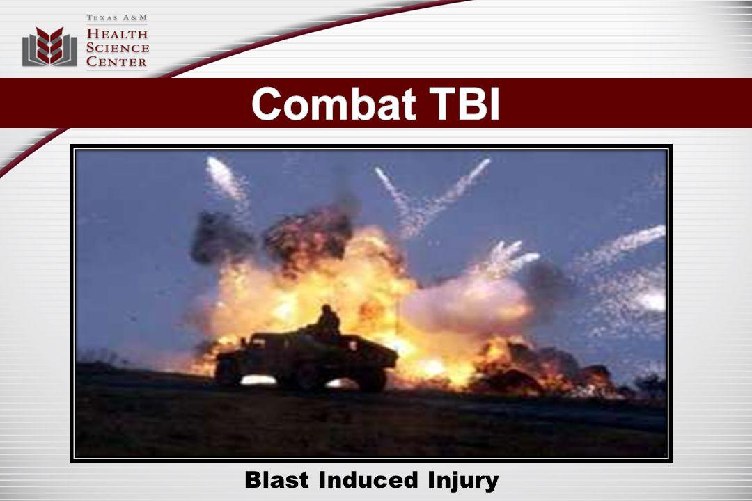 Blast Induced Injury