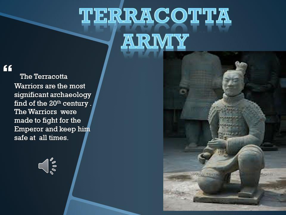 Terracotta Army animoto video
