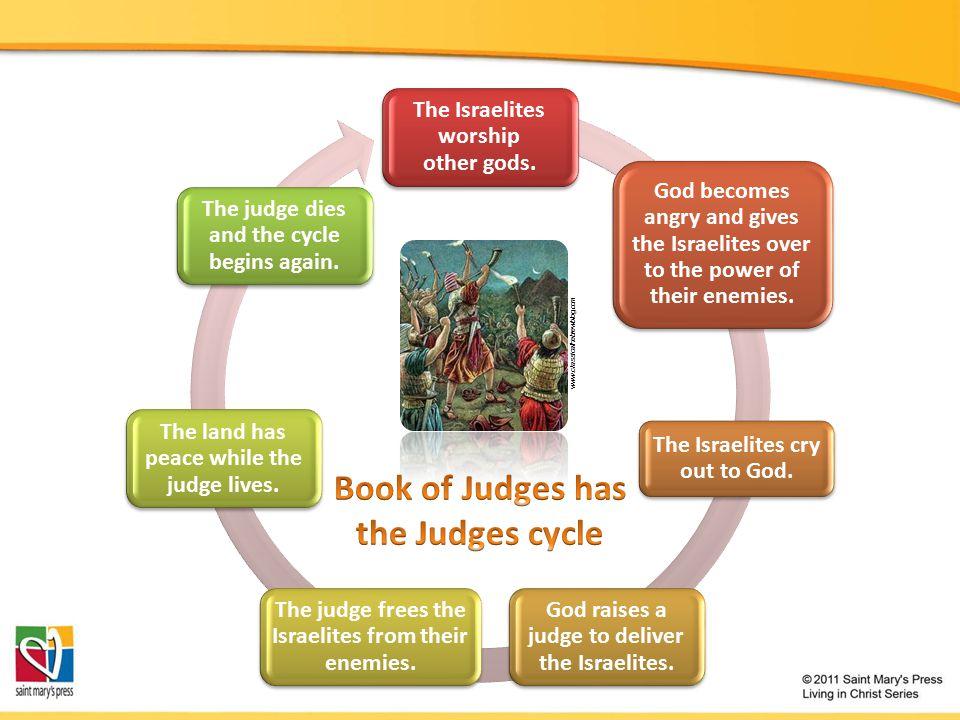 The Israelites worship other gods.