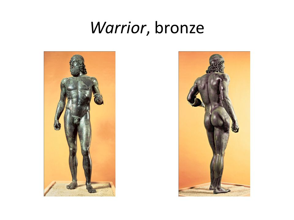 Warrior, bronze