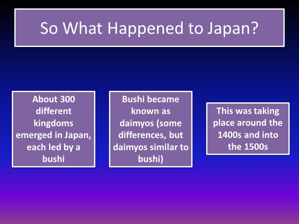 So What Happened to Japan.