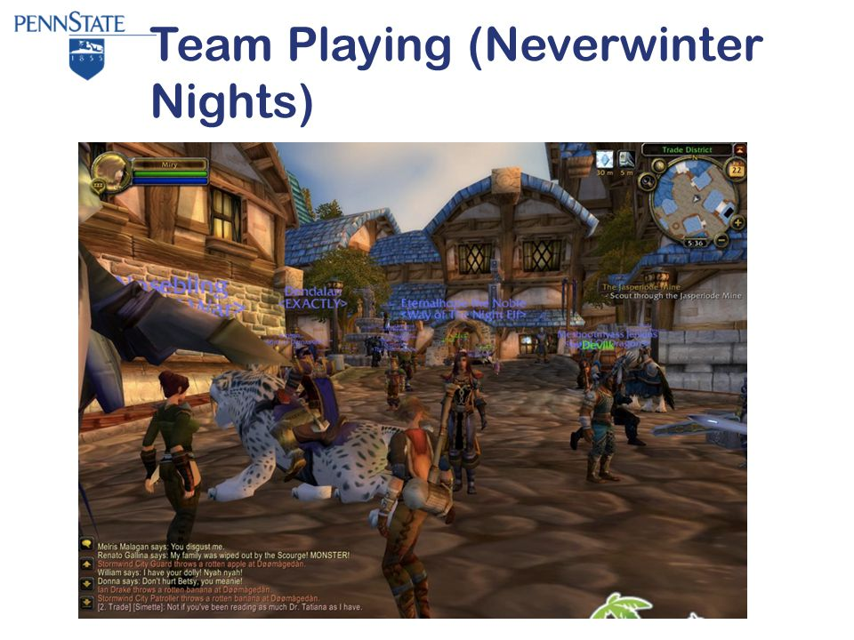 Team Playing (Neverwinter Nights)