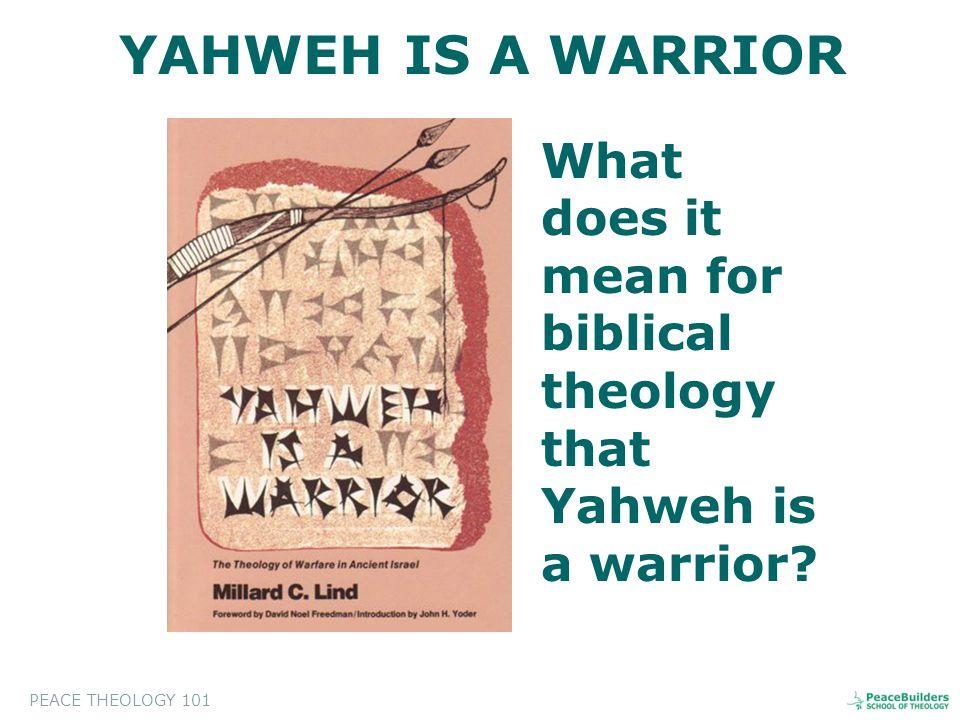 A.CHARACTERISTICS OF YAHWEH'S WAR: 1.PROPHET-LED.