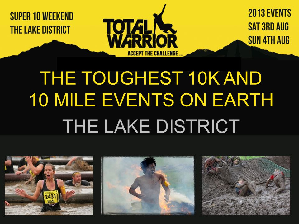 The Total Warrior challenges are not your standard trail runs.