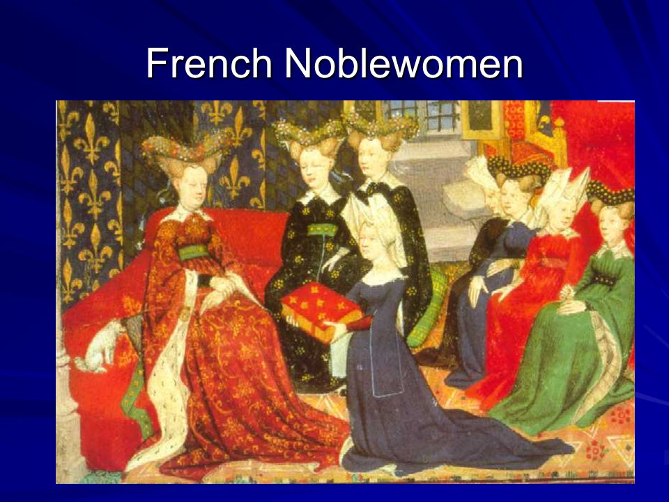 French Noblewomen