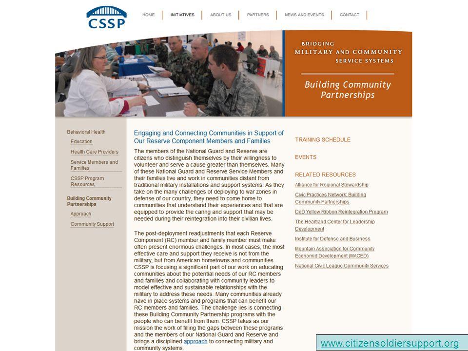 www.citizensoldiersupport.org
