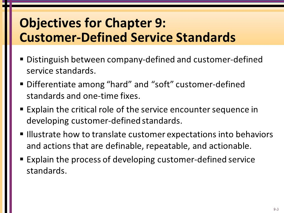 Linkage between Soft Measures and Hard Measures for Speed of Complaint Handling 9-14
