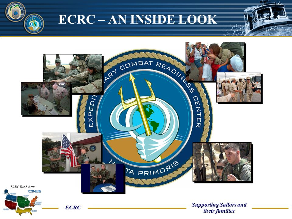 UNCLASSIFIED ECRC Supporting Sailors and their families ECRC Roadshow Medical Reasons for Cancellation