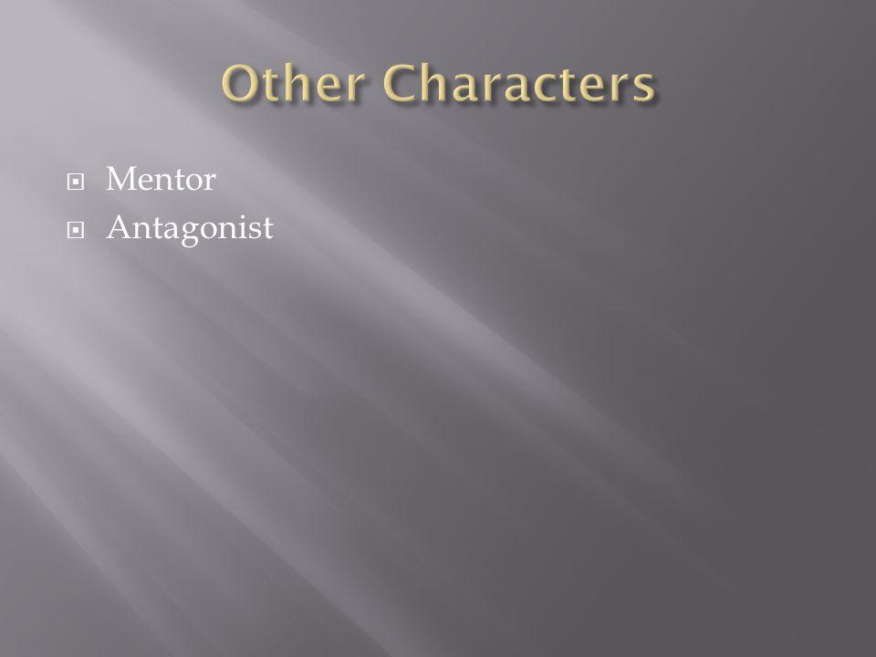  Mentor  Antagonist