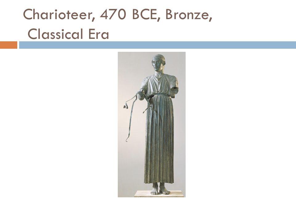 Charioteer, 470 BCE, Bronze, Classical Era