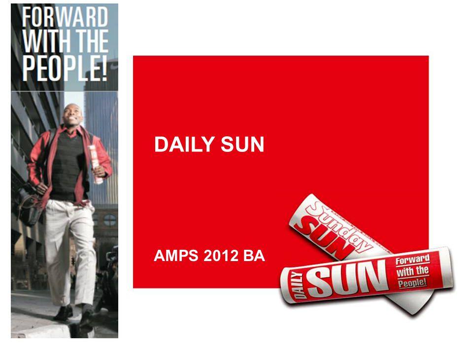 DAILY SUN AMPS 2012 BA