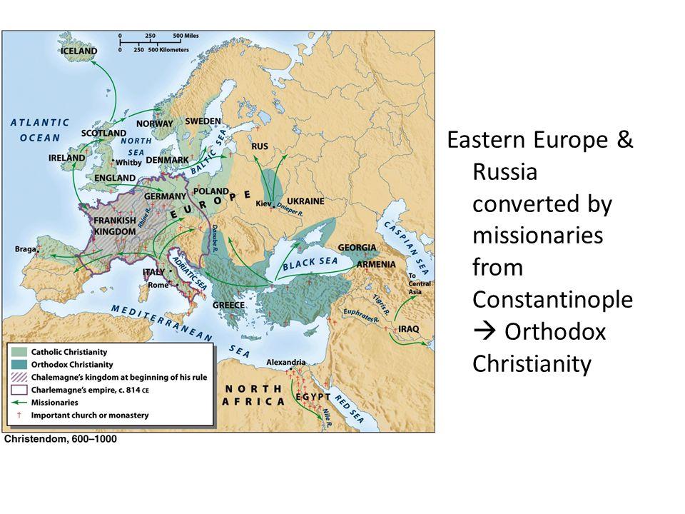 Byzantine Empire bears brunt of defense against Muslim Armies: Protects Western Christendom
