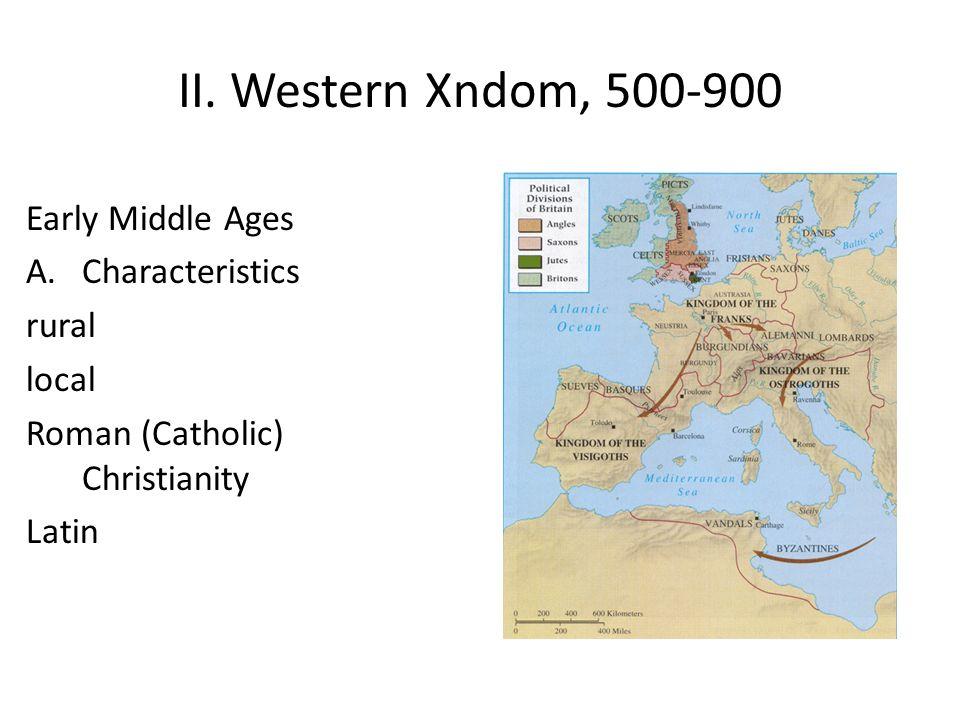 B. Mix of 3 influences 1.Roman culture