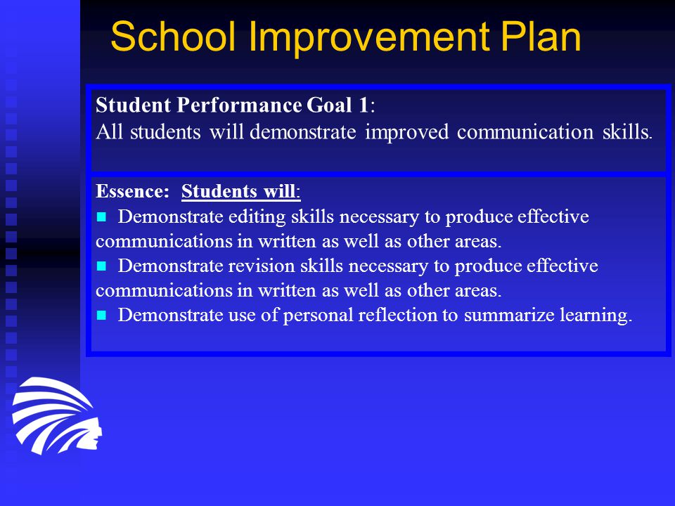 Student Performance Goal 2: All students will demonstrate an improved ability to read and comprehend informational text in all curricular areas.