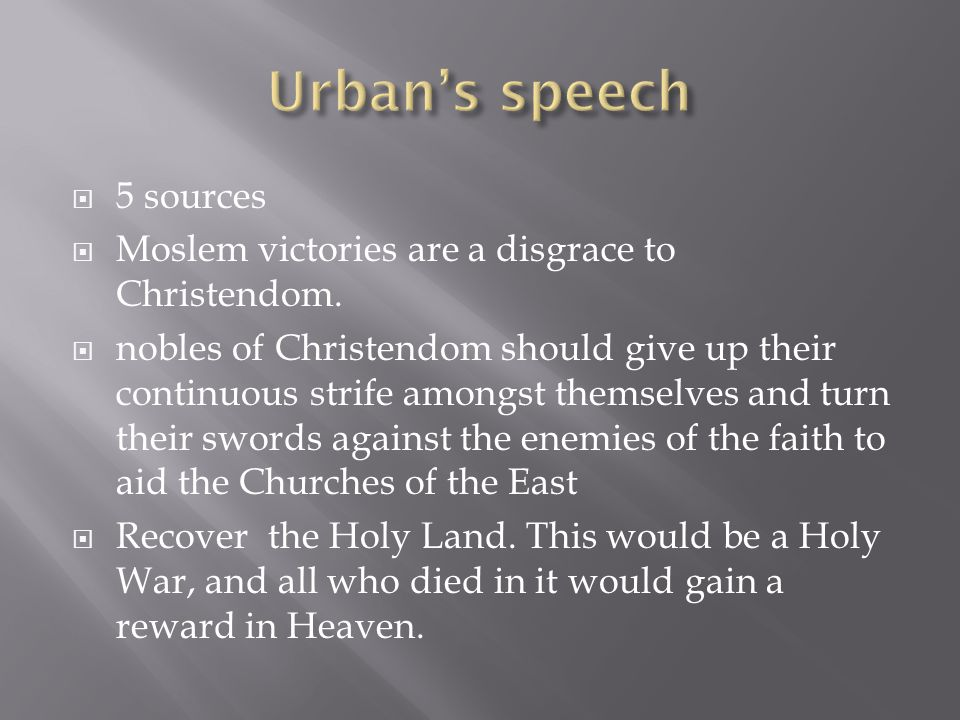  5 sources  Moslem victories are a disgrace to Christendom.