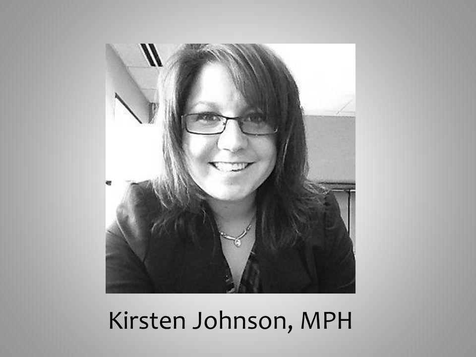 Kirsten Johnson, MPH